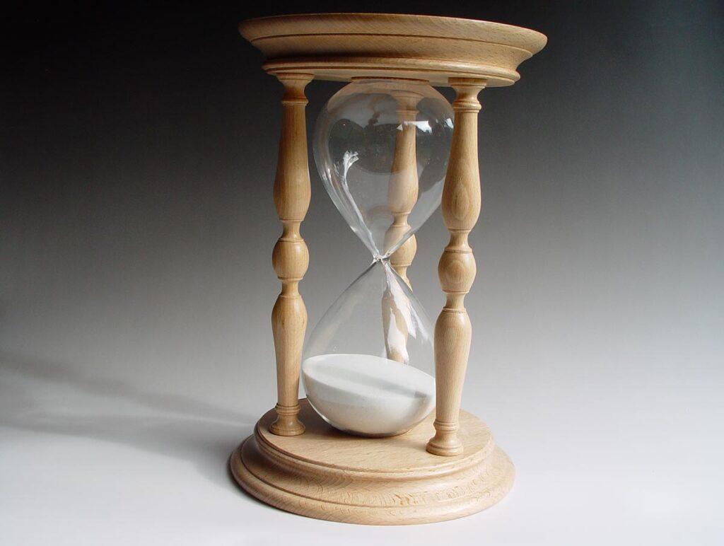 Hourglass in Beech